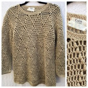 Cole of California Wool Blend Sweater